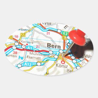 Bern, Switzerland Oval Sticker