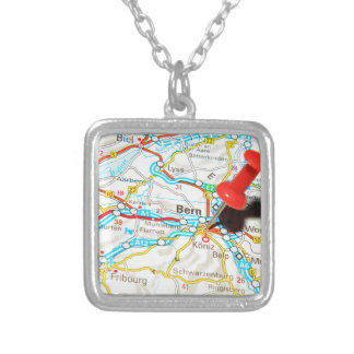 Bern, Switzerland Silver Plated Necklace