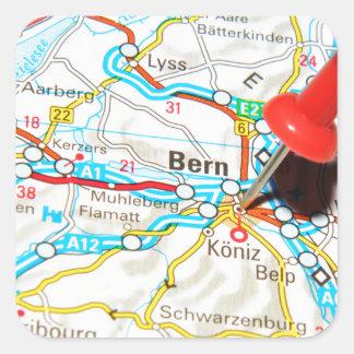 Bern, Switzerland Square Sticker