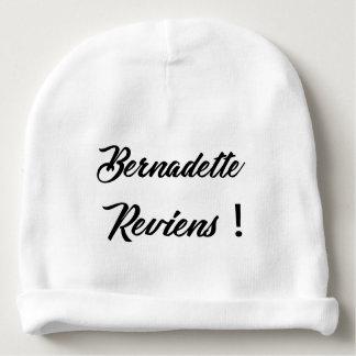 Bernadette return baby beanie