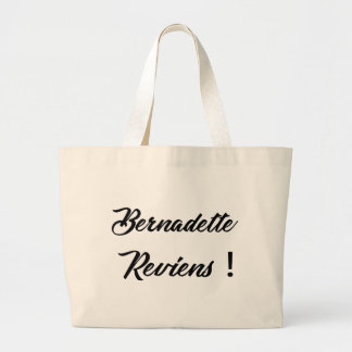 Bernadette return large tote bag