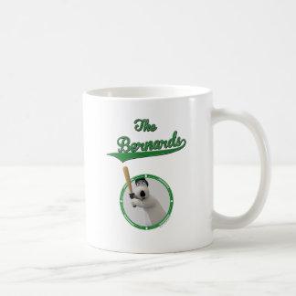 Bernard Bear Baseball Merchandise Basic White Mug