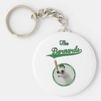 Bernard Bear Baseball Merchandise Keychain