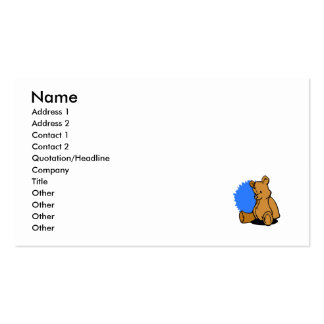 Bernard Bear Business Card