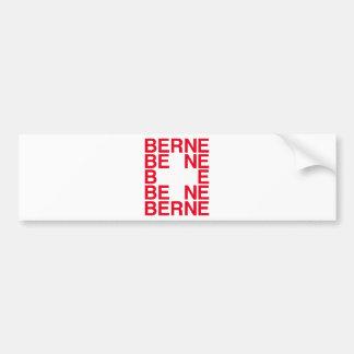 Berne Bumper Sticker