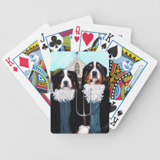 Berner Gothic Bicycle Playing Cards