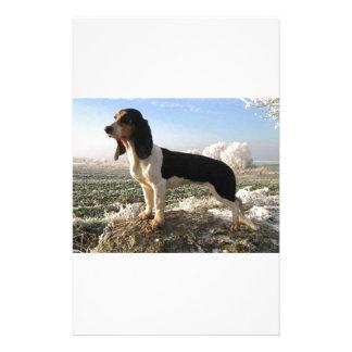 Berner Laufhund Dog Customized Stationery