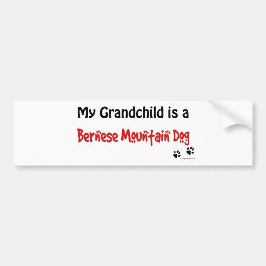 Bernese Grandchild Bumper Sticker