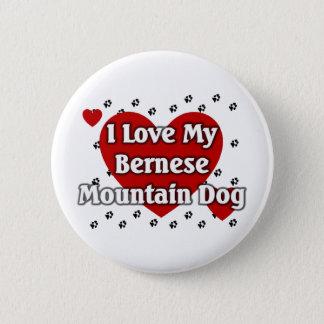 Bernese Mountain Dog 2 Inch Round Button