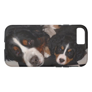 Bernese Mountain Dog and Puppy iPhone 8/7 Case