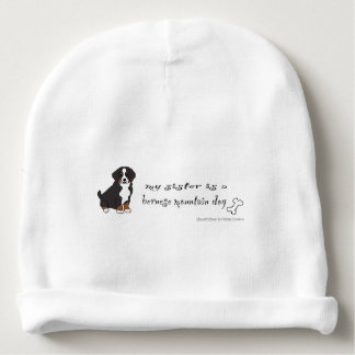 bernese mountain dog baby beanie