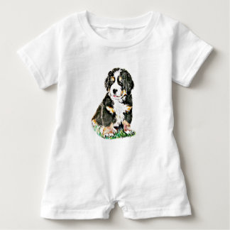 Bernese Mountain Dog Baby Romper