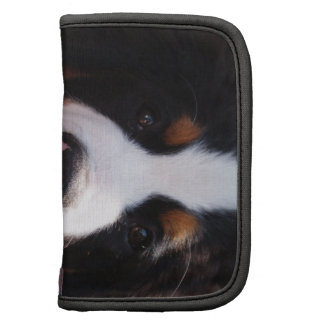 Bernese Mountain Dog Breed Wallet Folio Folio Planner