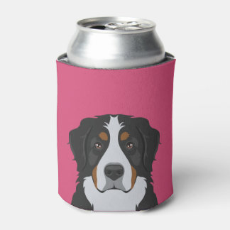 Bernese Mountain Dog Can Cooler