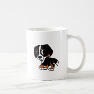 bernese mountain dog cartoon rust coffee mug
