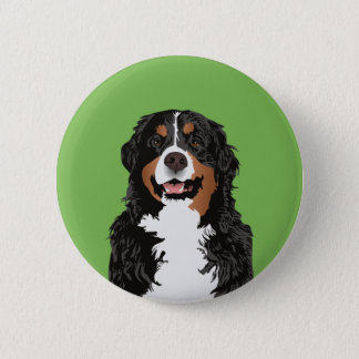 BERNESE MOUNTAIN DOG FOR BERNESE MOUNTAIN PARENT 2 INCH ROUND BUTTON