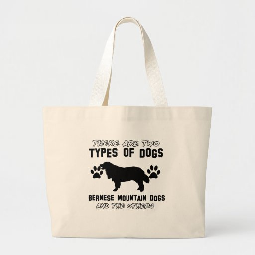 bernese mountain dog gift items tote bags