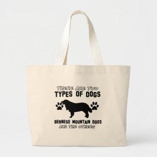 bernese mountain dog gift items jumbo tote bag