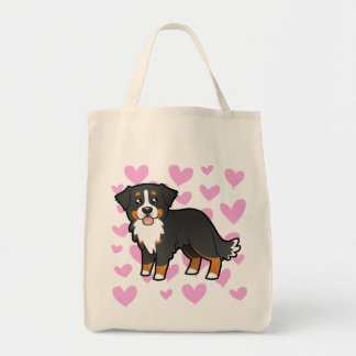 Bernese Mountain Dog Love Tote Bag