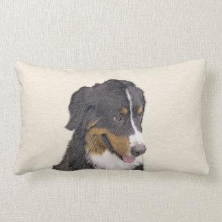 Bernese Mountain Dog Lumbar Pillow