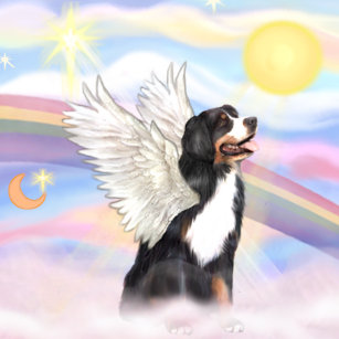 Billedresultat for rainbowbridge bernese mountain dog
