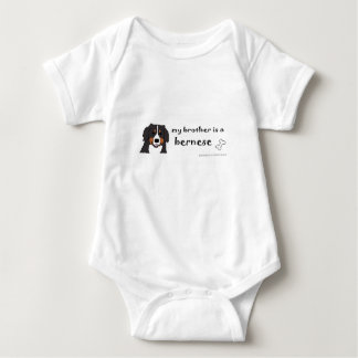 bernese mountain dog - more breeds baby bodysuit