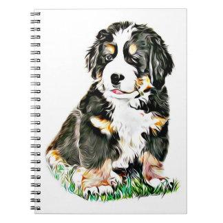 Bernese Mountain Dog Notebook