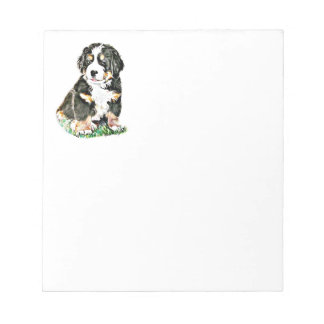 Bernese Mountain Dog Notepad