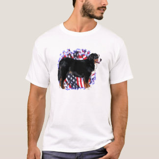 Bernese Mountain Dog Patriot T-Shirt