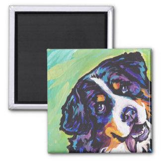 Bernese Mountain Dog Pop Art Magnet