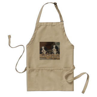 Bernese Mountain Dog Puppies Standard Apron