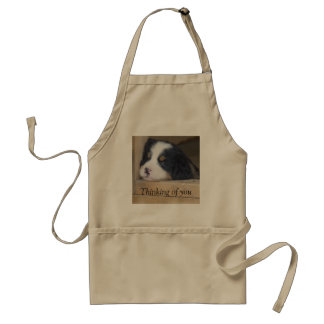 Bernese Mountain Dog Puppy -  Thinking of you Standard Apron