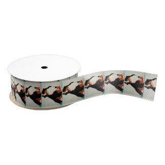 Bernese Mountain Dog Ribbon Grosgrain Ribbon