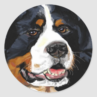 Bernese Mountain dog stickers