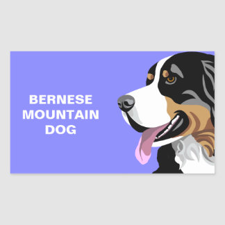 Bernese Mountain Dog Stickers