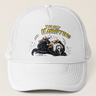 Bernese Mountain Dog Totally Hairifying Trucker Hat
