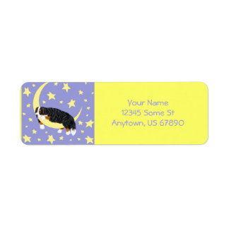 Bernese Mountain Dog Twinkle Labels