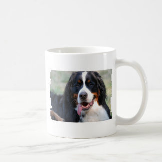 Bernese Mountain Dog with Big Tongue Coffee Mug