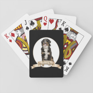 Bernese Mt. Dog Playing Cards