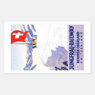 Bernese Oberland Switzerland Vintage Travel Sticker