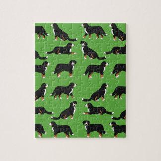 Bernese Sennenhund selection Jigsaw Puzzle
