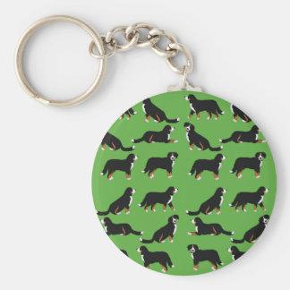 Bernese Sennenhund selection Keychain