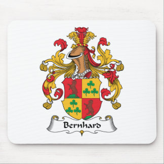 Bernhard Family Crest Mouse Pad