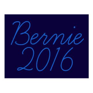 Bernie 2016 Cursive Postcard