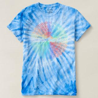 Bernie 2016 Retro Tie-Dye T-Shirt v.1