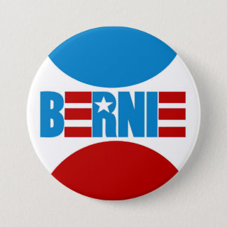Bernie 3 Inch Round Button