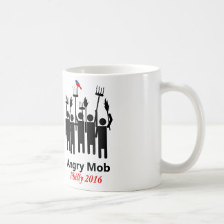 Bernie Angry Mob Coffee Mug