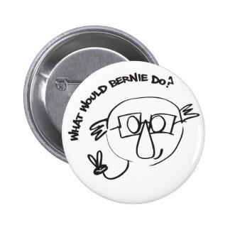 Bernie Anna Final 2 Inch Round Button