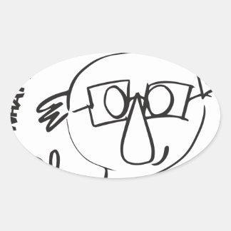 Bernie Anna Final Oval Sticker