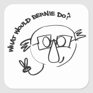 Bernie Anna Final Square Sticker